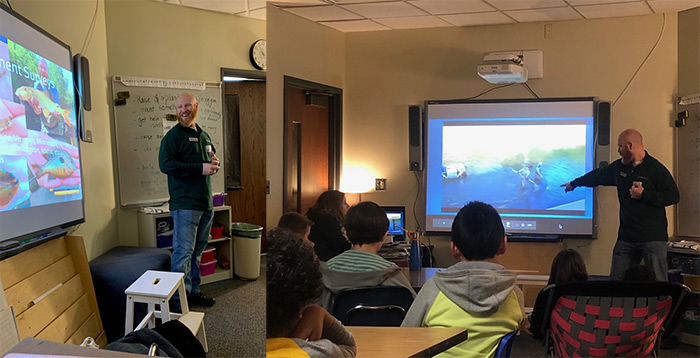 Dublin Students Get a Glimpse of Aquatic Ecology