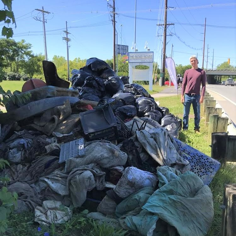 A Riverbank Clean Up of Confluence Park  - 10 am - 2 pm