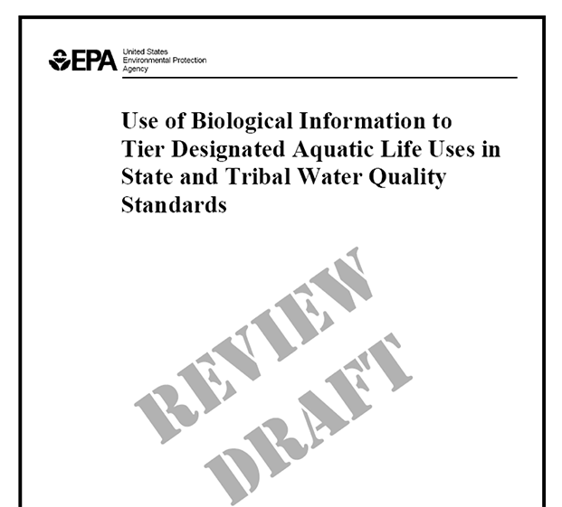 Use of Biological Information to Better Define Designated Aquatic Life Uses in State and Tribal Water Quality Standards